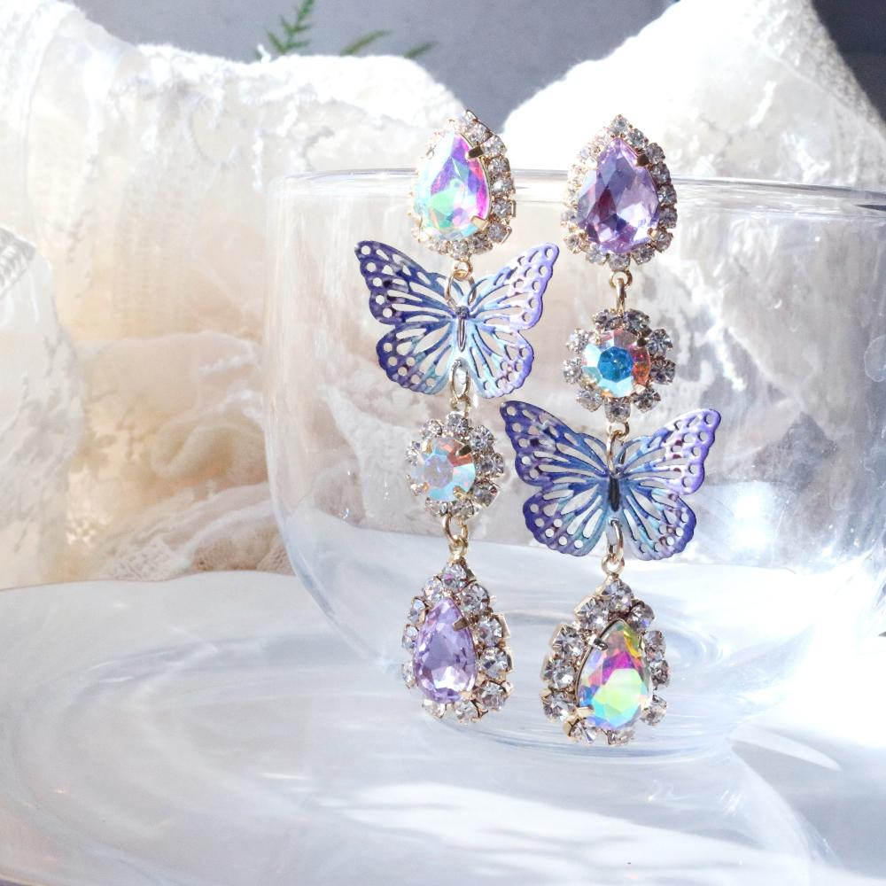 Secret Fairy Earring (2 color) Earrings bling moon