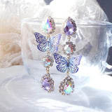Secret Fairy Earring (2 color) Earrings bling moon Purple