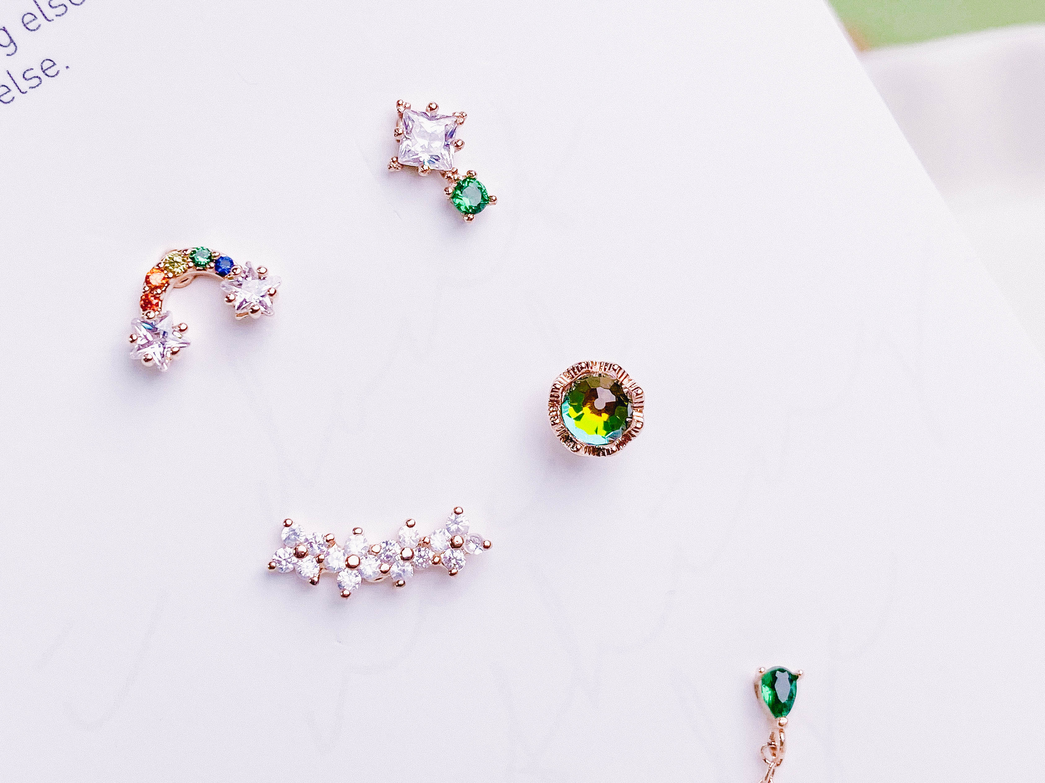Spread a rainbow SET (ピアス/ピアッシング) Piercing anything else