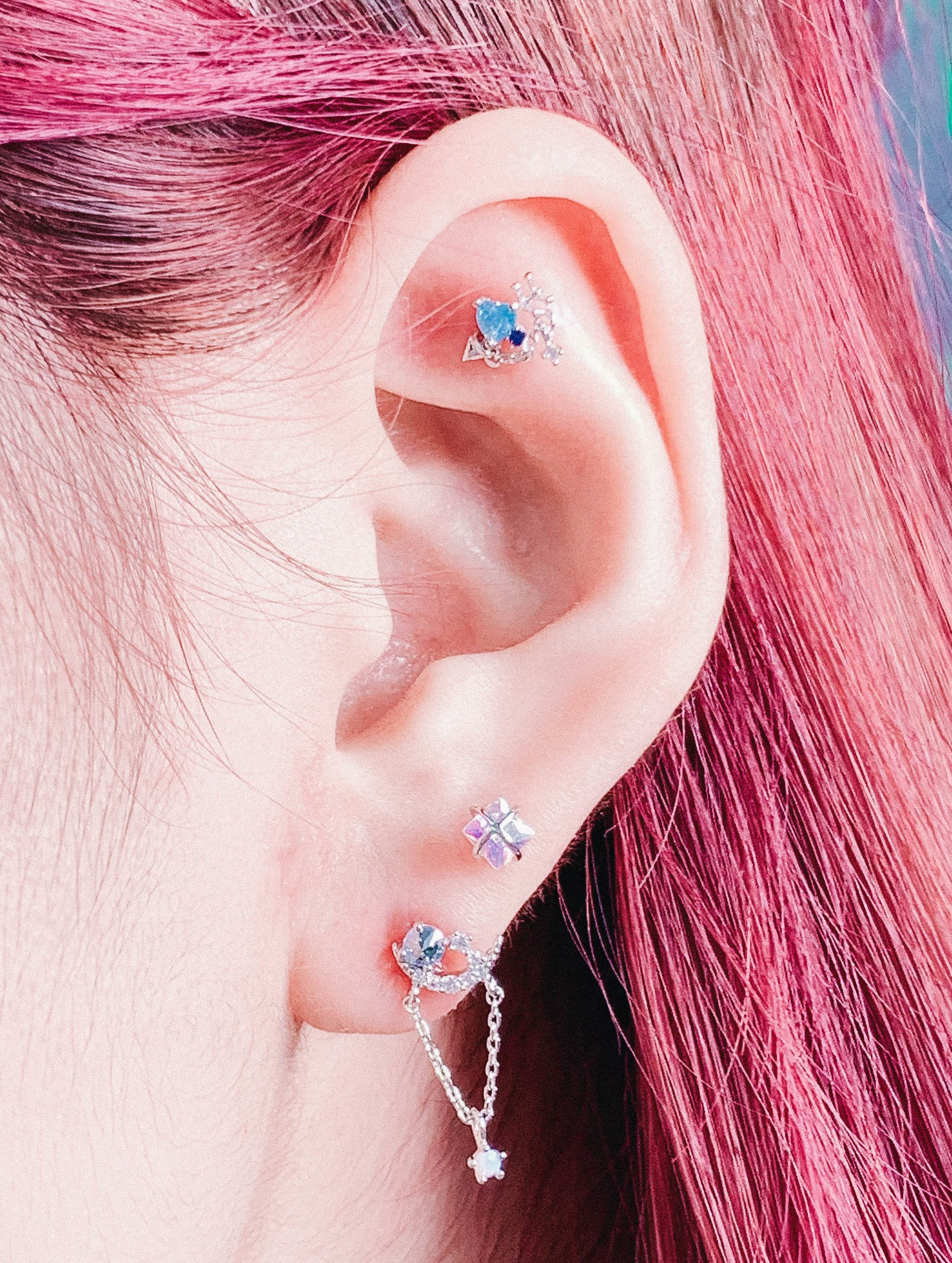 Square Sparkling (ピアス/ピアッシング) Piercing anything else