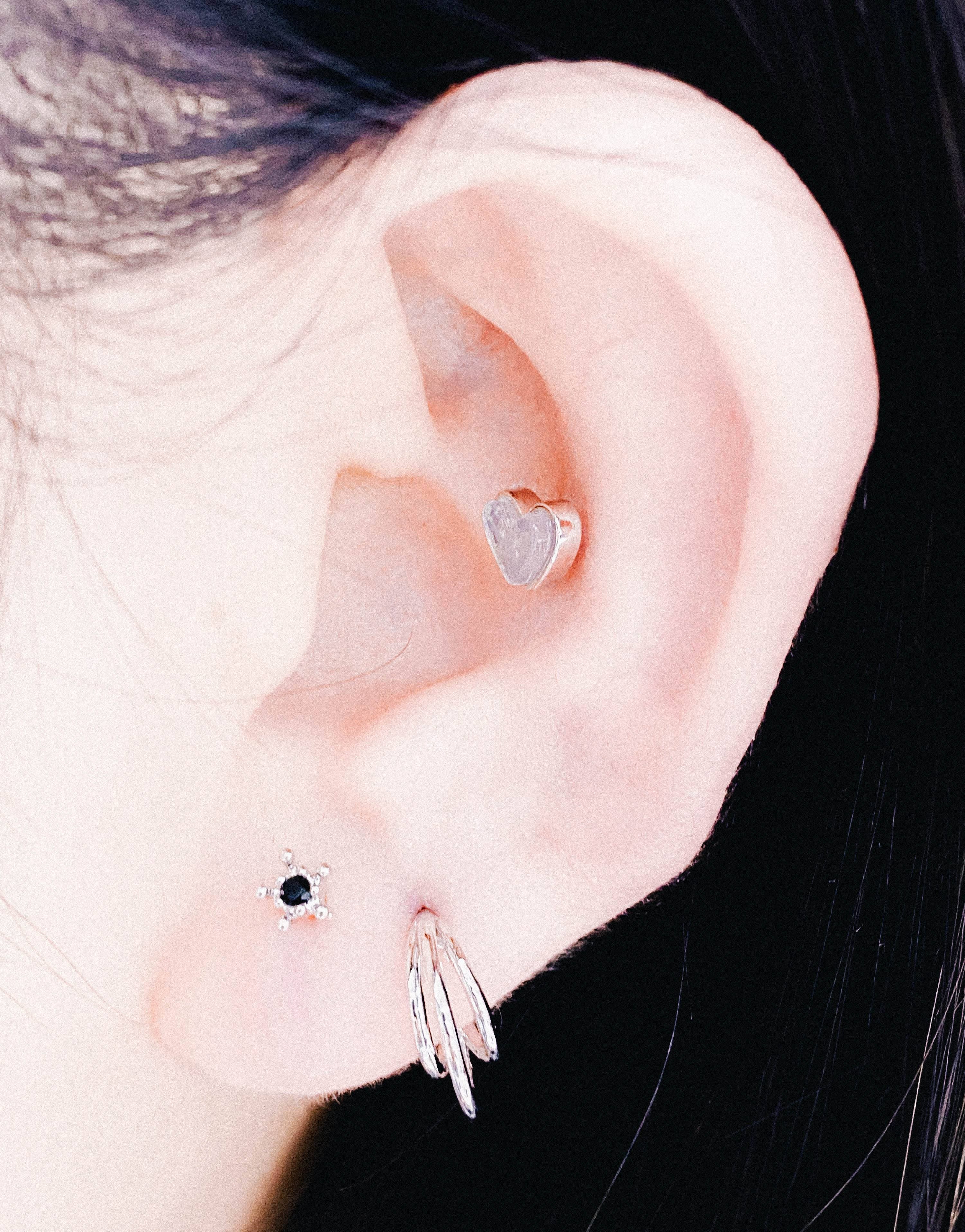 Three layer ピアッシング Piercing anything else