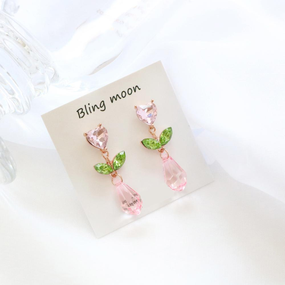 Tulip earring (3 color) Earrings bling moon