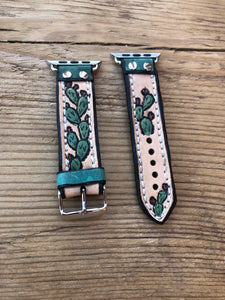 - Prickly Pear Cacti 42/44mm Apple Watch Band
