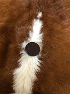 Buffalo Leather Phone Grip