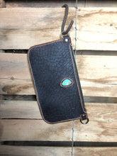 Load image into Gallery viewer, Buffalo and Turquoise Simple Crossbody