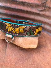 Load image into Gallery viewer, Sunflower and Cacti Dog Collar