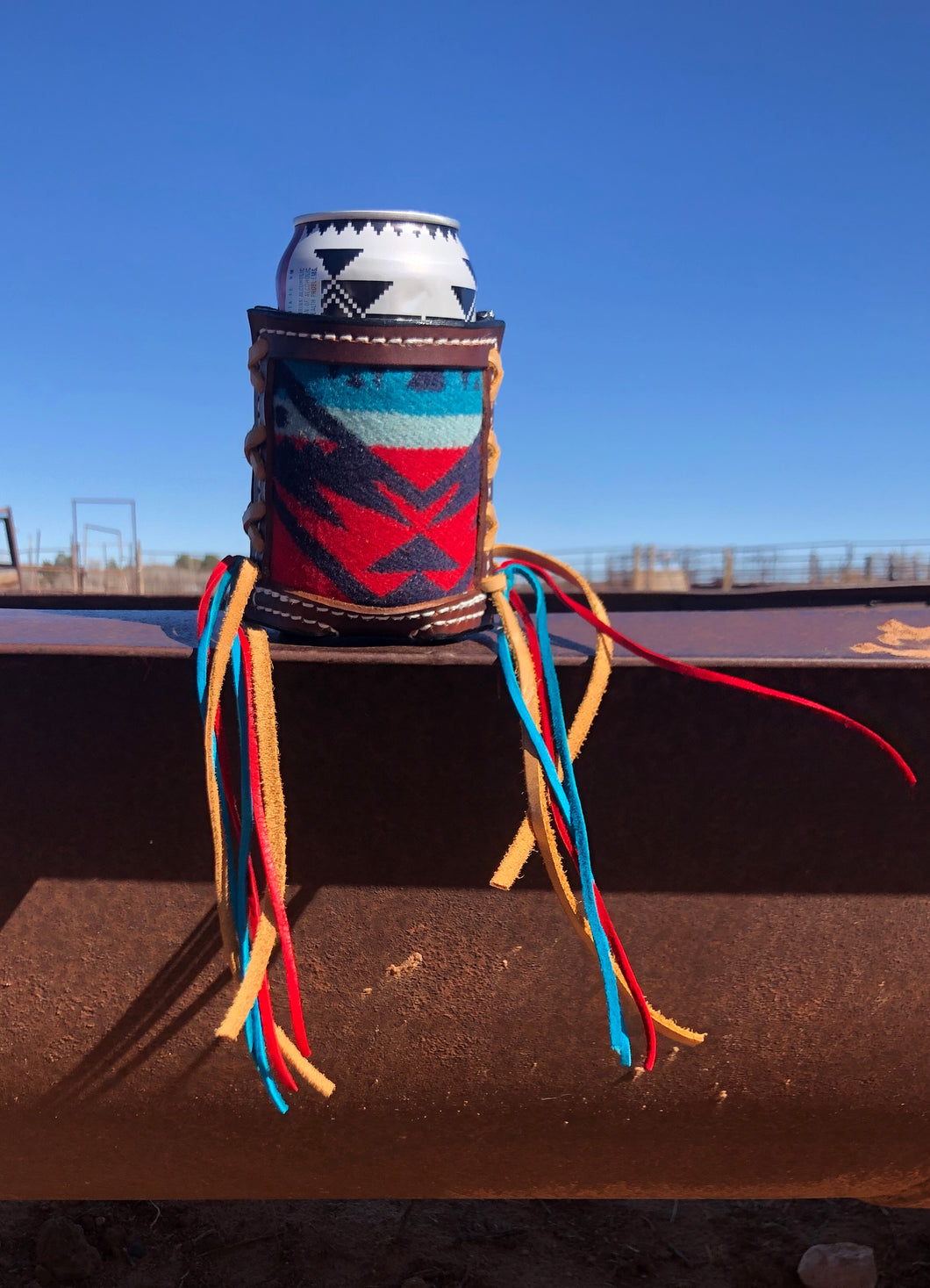Pendleton inlay Drink Holder