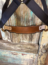 Load image into Gallery viewer, Rectangle Light Roughout Pendleton Inlay Noseband