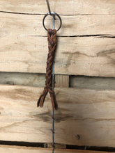 Load image into Gallery viewer, Braided Buffalo Keychain