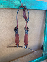 Load image into Gallery viewer, Leopard and Copper One Ear Headstall