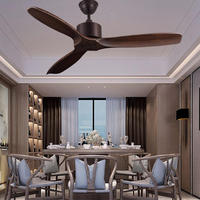 52 Inch Luxury Ceiling Fans Without Light Home Bedroom Living Room Fan Justcozy Com