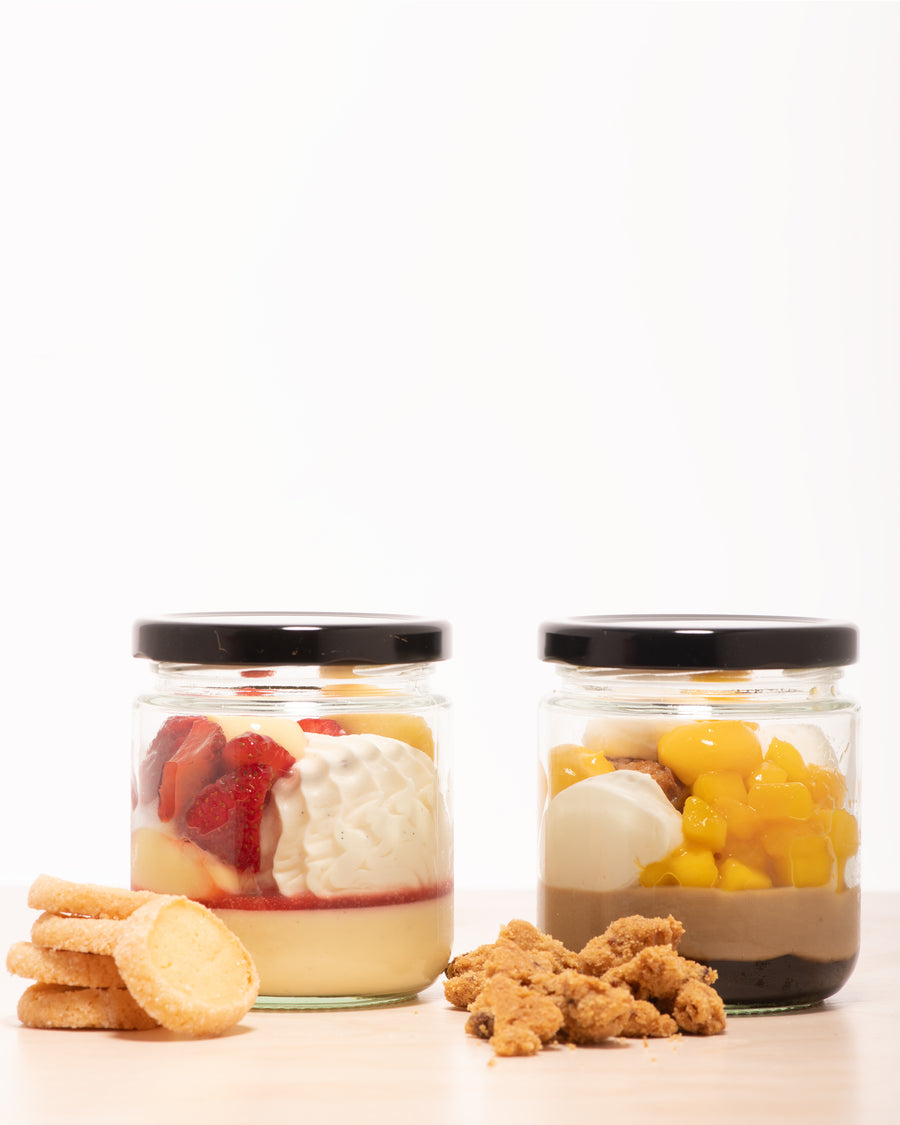 Dessert Pack // Strawberry Shortcake + Mango Milk Tea-ramisu