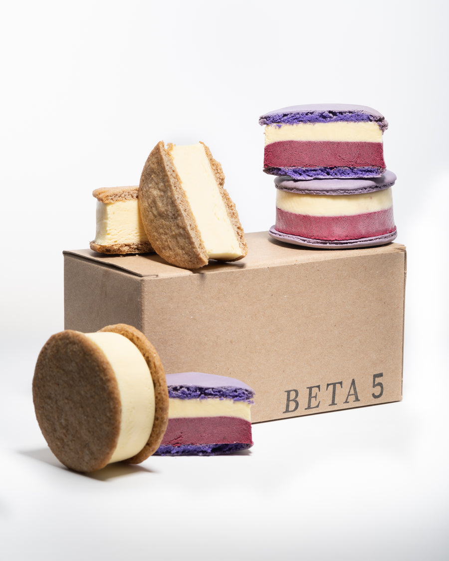Ice Cream Sandwich Pack // Cassis - Lavender + Key Lime Pie