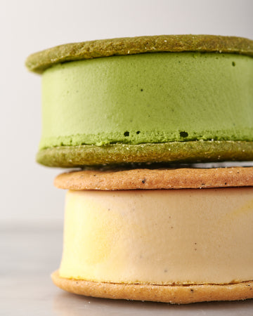 Ice Cream Sandwich Pack // Matcha + Mango Milk Tea