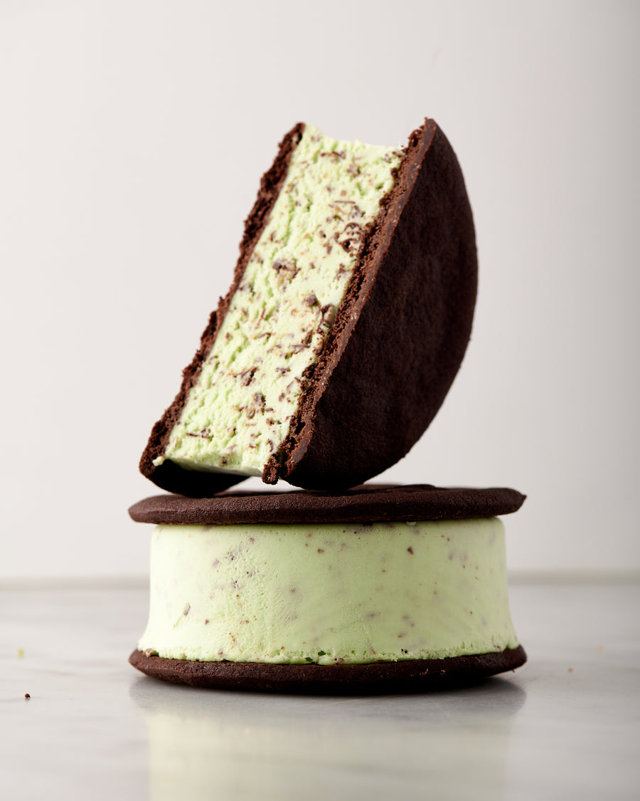 Mint Chip Ice Cream Sandwich