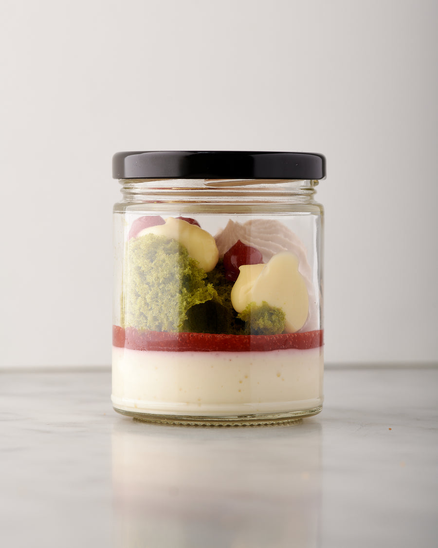 Strawberry Cheesecake Dessert Jar