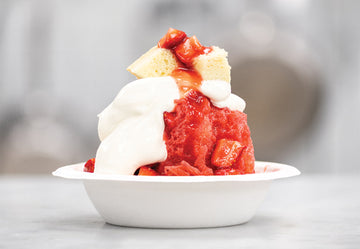 June 8th // Strawberry Shortcake Ice Cream Sundae