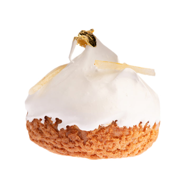 Yuzu Meringue Pie Cream Puff