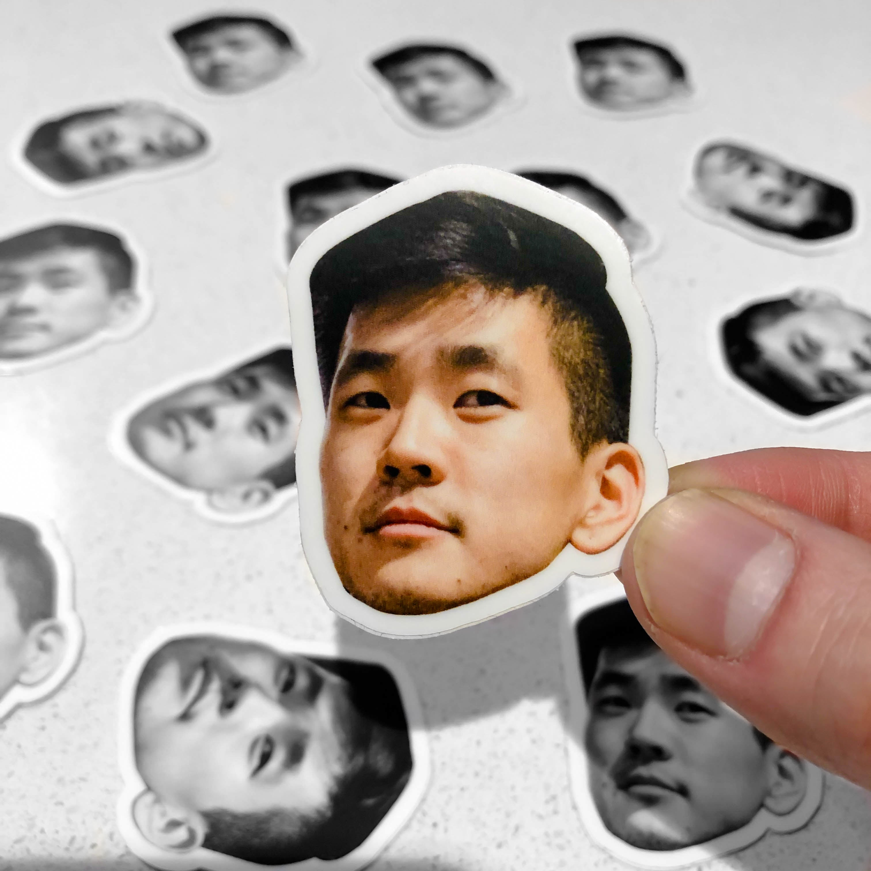 Dennis Face Sticker