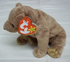 Ty Beanie Babies Pecan the Bear -- Used