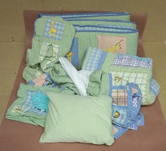 Kids Line 6 Piece Crib Bedding Set -- Used