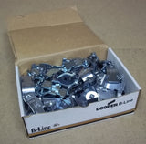 Cooper B-Line B2004PA Conduit Clamps 1 1/4in Box of 78 -- New