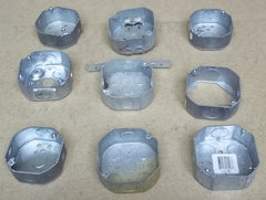 Octagon Boxes Lot of 9 -- New