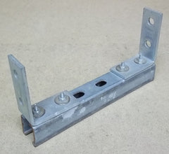 Electrical Item Channel and Angle Brackets 11in x 6in x 2in -- Used