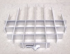 Hubbell 1000 Series Recessed Light Parts Shade and Grille -- Used