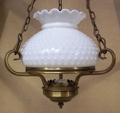 Lavery Hanging Light Fixture Glass -- Used