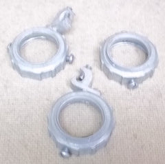 Compression Rings for 1 1/4in Conduit Lot of 3 -- New