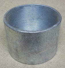 Conduit Coupling 4in Steel Threaded -- New