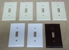 Switch Wall Plates Lot of 7 -- Used