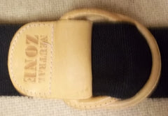 Neutral Zone Belt Cotton Female Adult Small Black Solid 62-612e -- Used