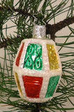 Lamp Inge-Glas Ornament Germany Glass Multicolor -- Used