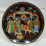 Bradford Exchange Vintage Collectible Plate Firebird Russian 8th In Series 6153 -- New