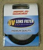 Digipower FL-UV58 58mm UV Lens Filter -- New