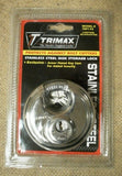 Trimax TRP170 Stainless Steel Disk Storage Lock -- New
