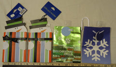 Best Buy Christmas Gift Bags 4 Sizes see decription Qty 11  -- New
