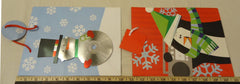 Christmas Gift Bags 2 sizes see decription 4 Styles Qty 8 -- New