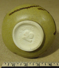Nooksack Pottery Bottle with Lid 6 1/2in x 4 1/2in x 4 1/2in Ceramic   -- Used