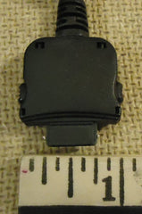 A093L1213 Car Adapter Power Plug 1/2in x 1/16in x 3/16in Black Plastic Metal  -- Used