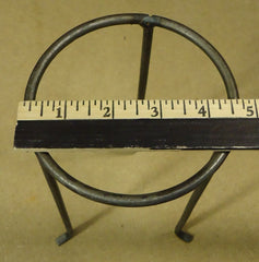 Candle Holder Stand 9 1/2in x 4 1/2in x 4 1/2in Metal -- Used