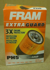 Fram PH5 Oil Filter 5 1/2in x 4in x 4in Metal  -- New
