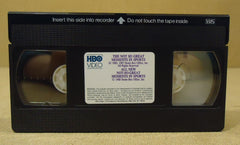 HBO Video The Not So Great Moments In Sports VHS Movie  Vintage Plastic Paper -- Used