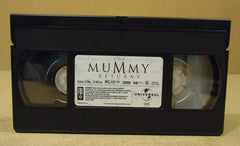 Universal The Mummy Returns VHS Movie  * Plastic Paper -- Used