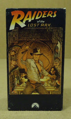 Paramount Raiders Of The Lost Ark VHS Movie  * Plastic Paper -- Used