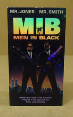 Amblin Entertainment Men In Black VHS Movie  * Plastic Paper -- Used