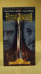 Republic Highlander VHS Movie  * Plastic * -- Used