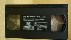MGM The Silence Of The Lambs VHS Movie  * Plastic * -- Used